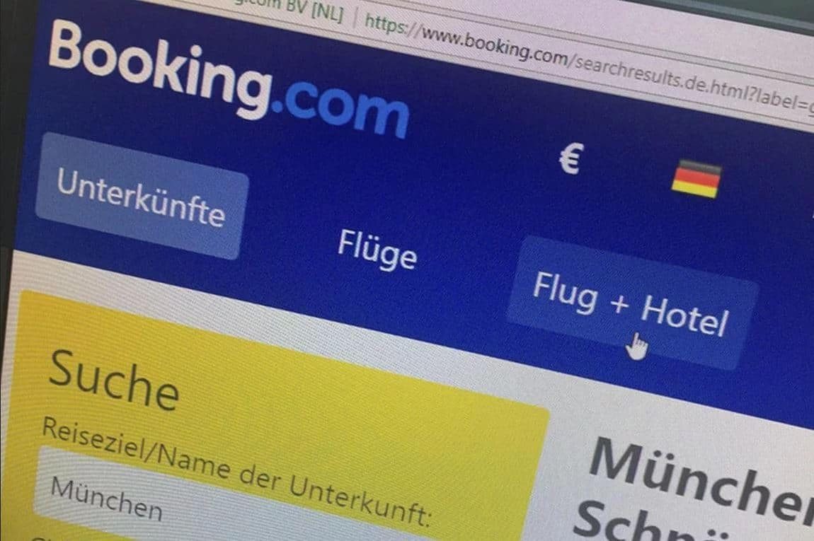 Evaluation from Booking.com: Germans traveled an average of 440 km per a booking